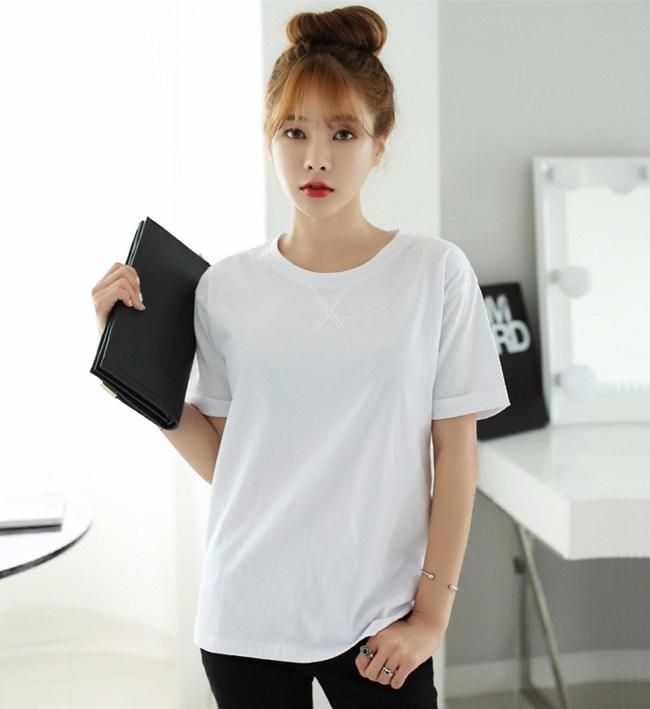 Áo Phông Trơn Nữ Giá Rẻ