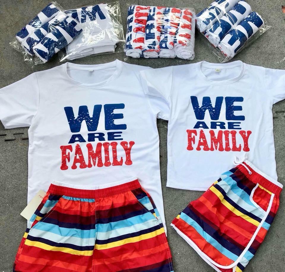 ao di bien we are family