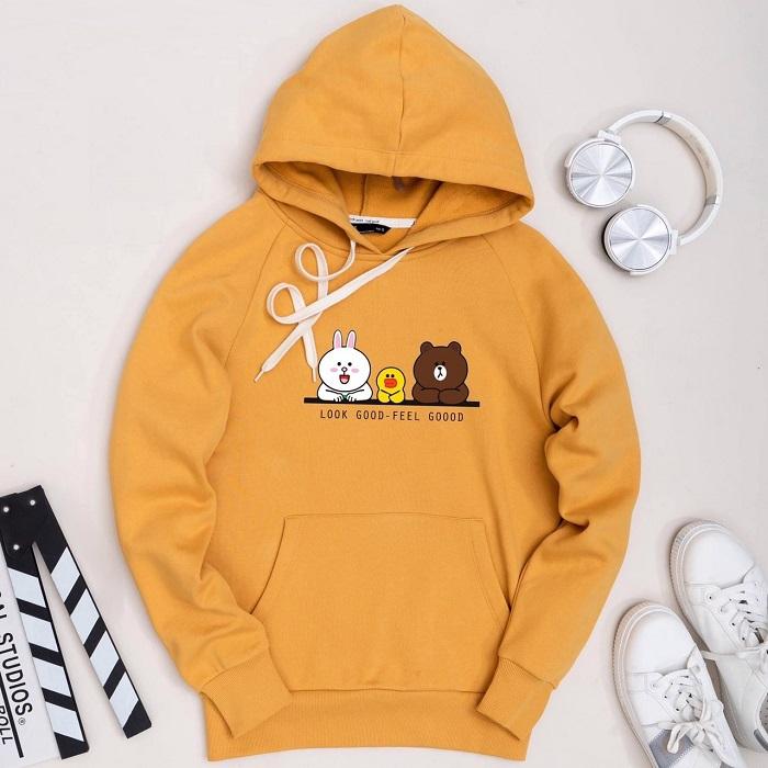 ao hoodie mau cam